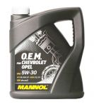 MANNOL O.E.M. for Chevrolet Opel 5W-30