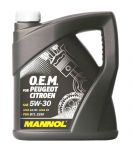MANNOL O.E.M. for Peugeot Citroen 5W-30